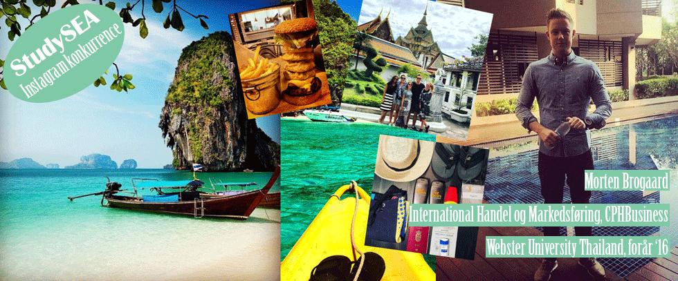 morten brogaard instagram studieophold udveksling thailand