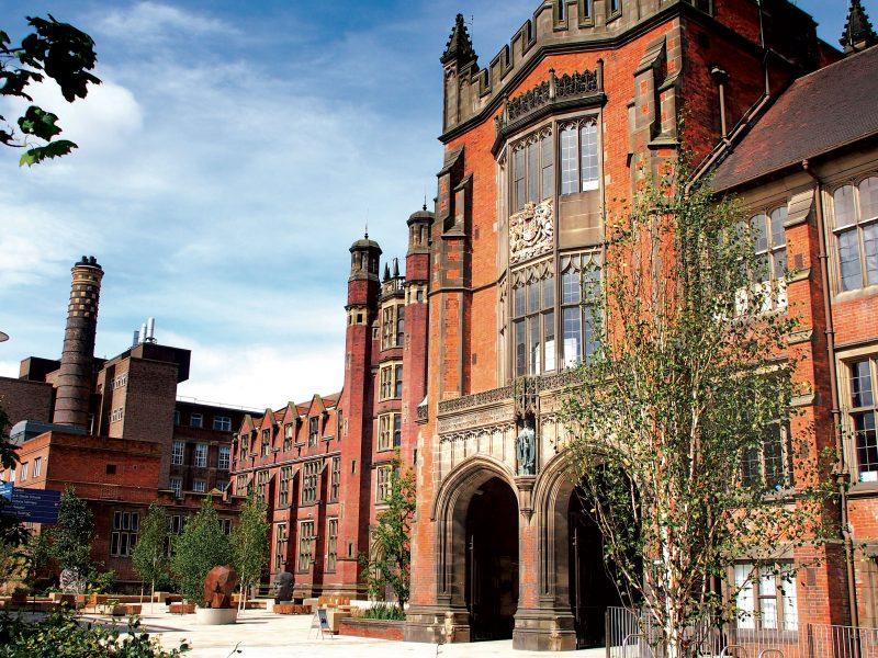 newcastle university campus england